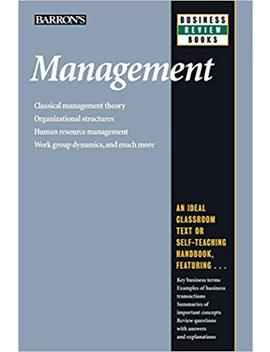 Management (Barron's Business Review Series) by Amazon