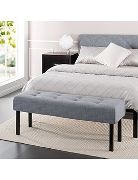 Zinus Memory Foam / Tufted  / Hallway / Entryway / Bed / Upholstered Bench by Zinus