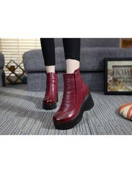 Wannabee   Platform Short Boots by Wannabee