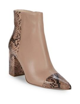 Ranfeild Snake Embossed Boots by Nine West