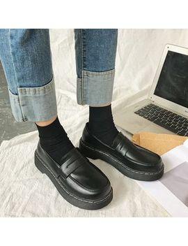 Zandy Shoes   Platform Loafers by Zandy Shoes