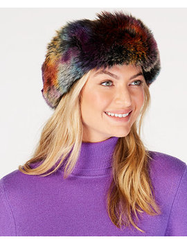 Party Animal Faux Fur Headband by Betsey Johnson