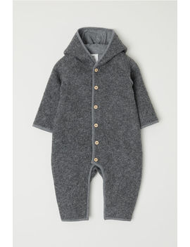 Wool Blend Overall by H&M