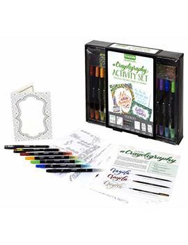 Crayola 04 0346#Crayoligraphy Activity Set Calligraphy by Crayola