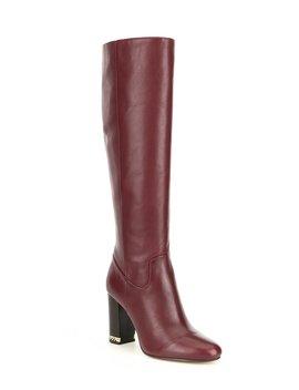 Walker Leather Block Heel Boots by Michael Michael Kors