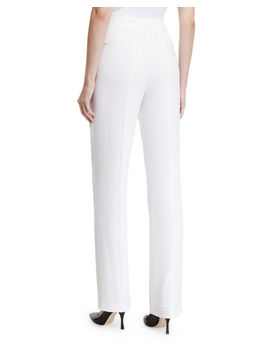 Leena High Waist Straight Leg Pants by Elie Tahari