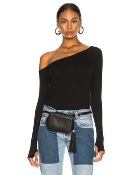 Cashmere Off Shoulder Long Sleeve by Enza Costa