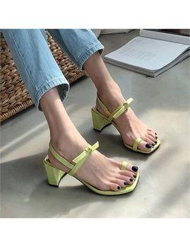 Monobarbi   Toe Loop Colored Sandals by Monobarbi