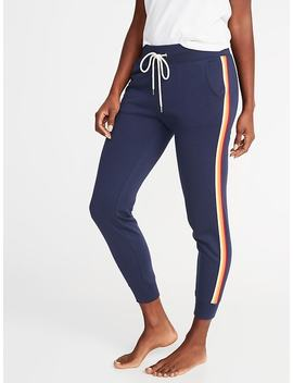 Relaxed Side Stripe Joggers For Women by Old Navy