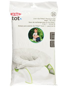 Oxo Tot 2 In 1 Go Potty Refill Bags, 30 Count by Oxo Tot
