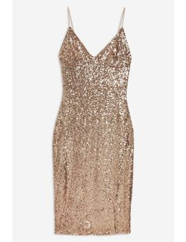 **Sequin Cami Midi Dress By Club L by Topshop