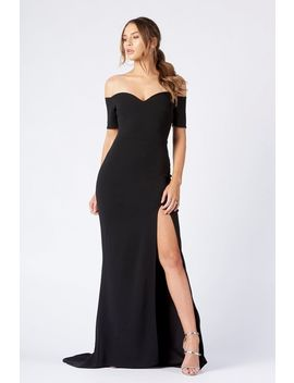 **Bardot Thigh Split Maxi Dress By Club L by Topshop