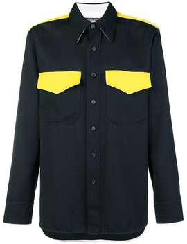 コントラストポケット シャツ by Calvin Klein 205 W39nyc