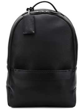 Pebbled Oversized Backpack by Calvin Klein