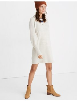 Bubble Sleeve Sweater Dress by Madewell