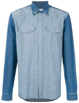 Tonal Denim Shirt by Maison Margiela