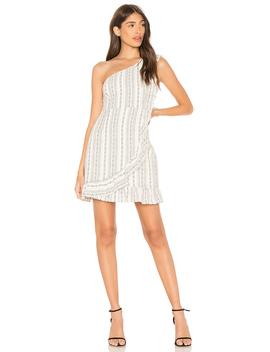 Edna One Shoulder Dress by Line & Dot