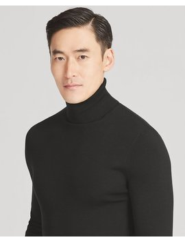 Rlx Slim Ribbed Merino Sweater by Ralph Lauren