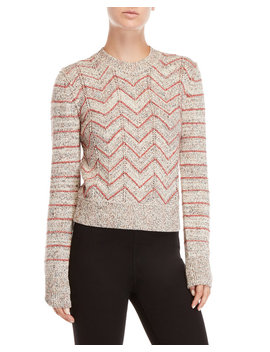 Zig Zag Pullover Sweater by Free People