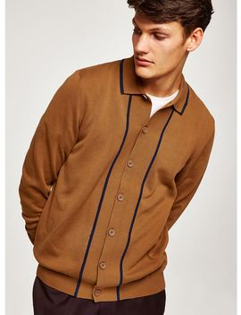Toffee Knitted Polo by Topman