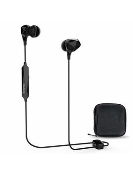 Meidong Active Noise Cancelling Bluetooth Earbuds   Up To 99 Percents (32d B) Noise Reduction , Active Noise Cancelling Wireless Headphones With Anc, Deep Bass For I Phone Android Tablets Tv Travel Gym Work, 15 Hours Playtime by Amazon