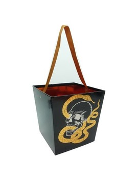 Halloween Large Nocturne Paper Bucket   Hyde And Eek! Boutique™ by Shop This Collection