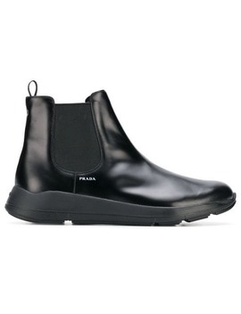 Classic Chelsea Ankle Boots by Prada