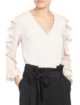 Contrast Edge Top by Rachel Roy Collection