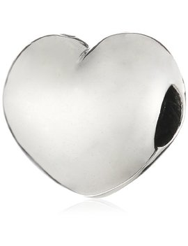 Pandora Sterling Silver Steady Heart Clip Charm 791279 by Pandora