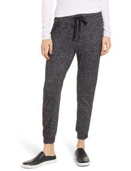 Brushed Marled Knit Sweatpants by Lou & Grey