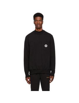Black Pocket Sweatshirt by AimÉ Leon Dore