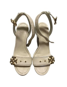 Leather Sandals by Tory Burch