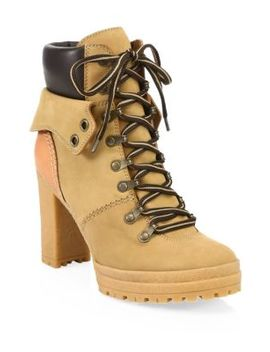 Eileen Platform Construction Boots by See By Chloé