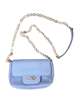 Leather Crossbody Bag by Salvatore Ferragamo