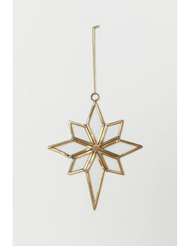 Star Christmas Ornament by H&M