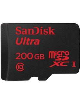 San Disk 200 Gb Ultra Micro Sdxc Uhs I Memory Card by San Disk