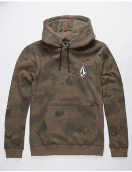 Volcom Deadly Stones Camo Mens Hoodie by Volcom