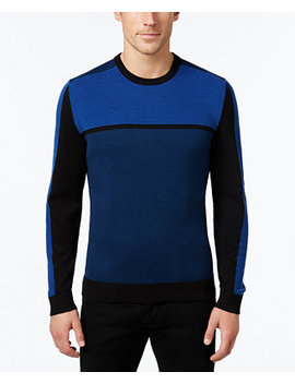 Men's Colorblocked Sweater, Created For Macy's by Alfani