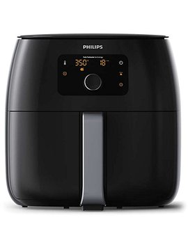 Philips Avance Collection Xxl Digital Twin Turbo Star Airfryer Black/Silver   Hd9650/96 by Philips