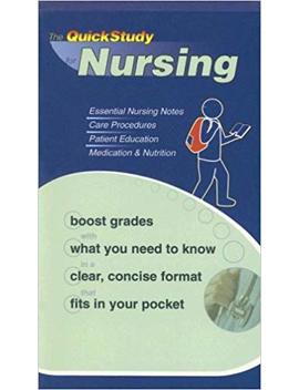 Nursing (Quickstudy Books) by Inc. Bar Charts