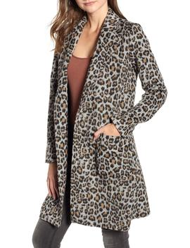 Leopard Belted Trench Coat by Cupcakes And Cashmere