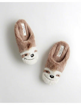 Sloth Slipper by Hollister