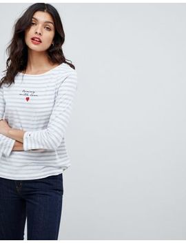 Tommy Hilfiger Tommy X Love Striped Logo T Shirt by Tommy Hilfiger