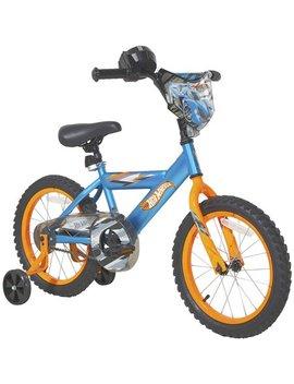 """Dynacraft 16"""" Hot Wheels Boy's Bike, Blue by Hot Wheels"""