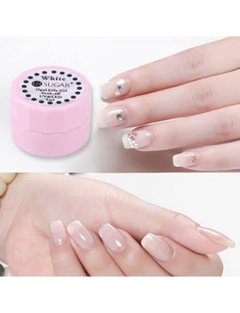 5ml White Opal Jelly Soak Off Uv Gel Polish Nail Art Manicure Varnish Ur Sugar by Ur Sugar