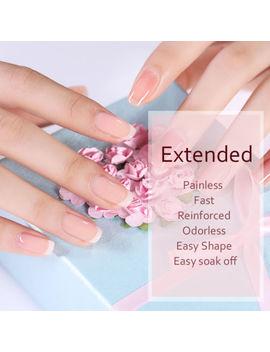 6ml Born Pretty Clear Nail Poly Quick Building Uv Gel Extension Glue W/Nail Form by Born Pretty