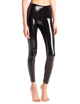 Control Top Faux Patent Leather Leggings by Commando