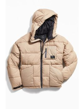 Uo High Tech Puffer Coat by Urban Outfitters