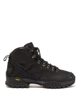 Andreas Leather Hiking Boots by Roa