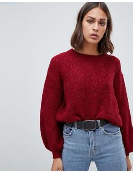 B.Young Textured Jumper by Jumper